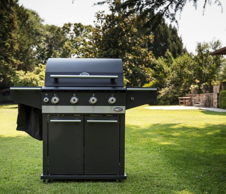 Boretti Gas Bbq.Boretti Barbecue Ibrido 75 Gas 25 Houtskool