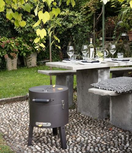 Boretti houtskoolbarbecue Tonello
