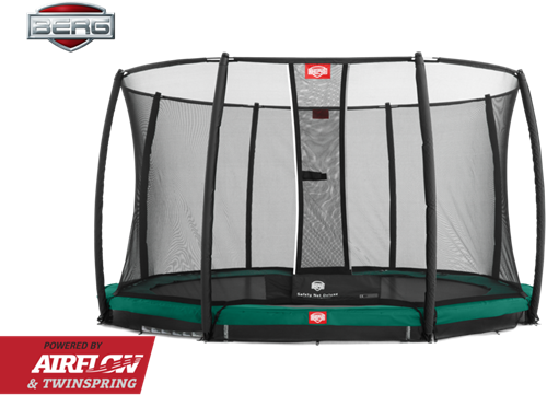 BERG InGround Champion Green + Safety Net Deluxe.p