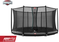 BERG InGround Champion Grey + Safety Net Comfort