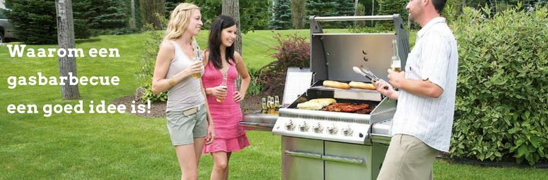 Waarom een gasbarbecue een goed  idee is