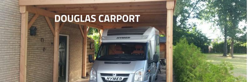 Douglas carport: maatwerk in optima forma