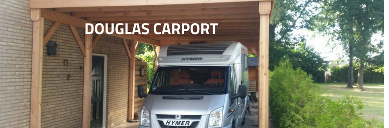 Douglas carport: maatwerk in optima forma