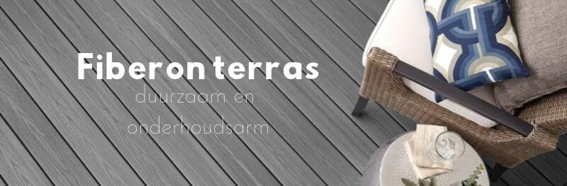 Fiberon composiet terras: duurzaam en onderhoudsarm