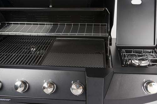 Boretti Robusto barbecue detail