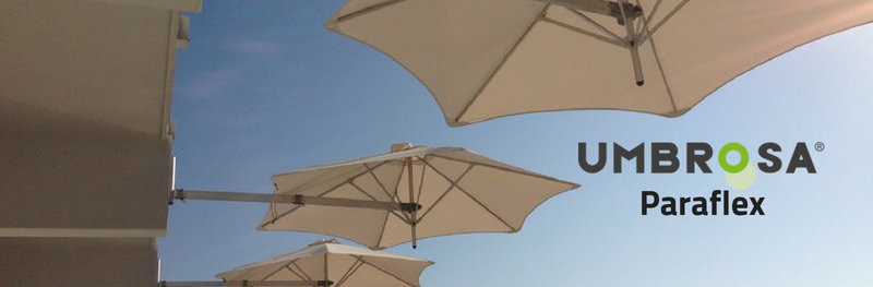 Paraflex, het flexibele parasolsysteem