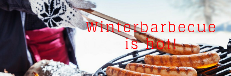 Winterbarbecue is hot!