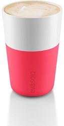 Eva Solo Caffé latte mok, inhoud 360 ml, rose, per 2 st.