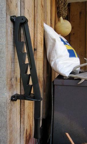 Stikkan houtklover, afm. 57 x 10 x 8 cm, inclusief bevestigingsmateriaal, gietijzer-3