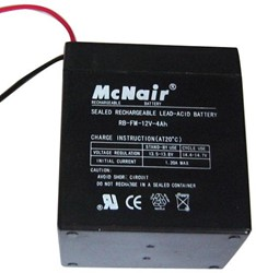 SuperJack accu voor EasyJack/Superjack hekopener, 12V, 4 Amp