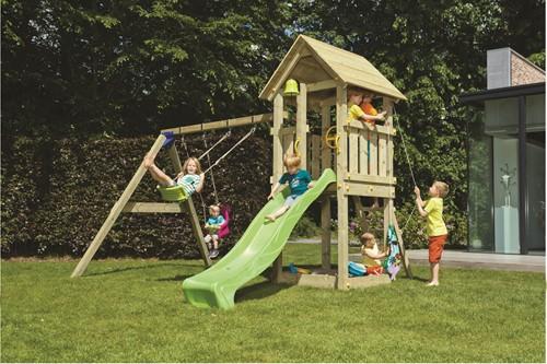 Blue Rabbit 2.0 - toren 'kiosk', incl. houtpakket en glijbaan-3
