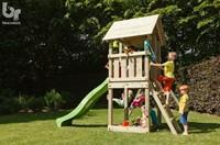Blue Rabbit 2.0 - toren 'kiosk', incl. houtpakket en glijbaan-2