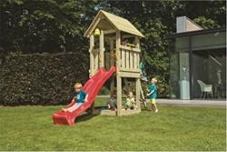 Blue Rabbit 2.0 - toren 'kiosk', incl. houtpakket en glijbaan