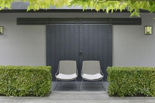 Borek Ferragudo tuinstoel, gepoedercoat stalen frame-3
