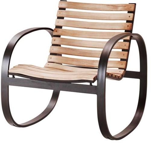 Cane-Line Parc rocking chair lava-grey-2