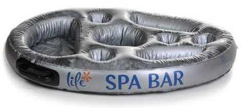 Floating spa bar, diam. 70 cm, opblaasbaar-2