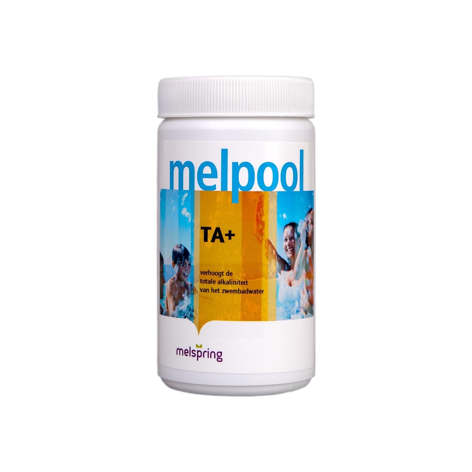 Melpool TA+ alkaliniteitsverhoger voor spabaden, 1 kg