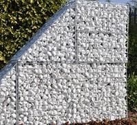Stenen Alpi, afm. 5 - 10 cm, wit, voor schanskorven (0,11 m3)