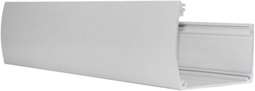 Aluminium goot voor douglas veranda Excellent, wit RAL 9001, lengte 700 cm
