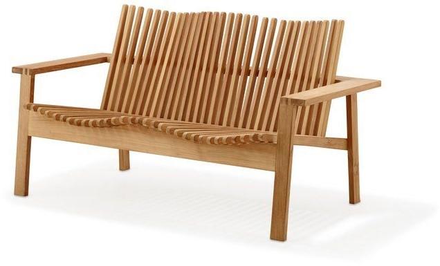 Fabulous Cane Line Amaze Stapelbare Lounge Sofa Teak Unemploymentrelief Wooden Chair Designs For Living Room Unemploymentrelieforg