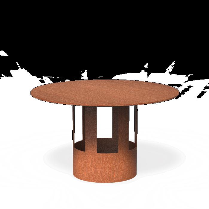 Burni verwarming Regenkap Forno - 154 mm - corten staal