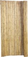 bamboe tuinscherm op rol, afm. 180 x 180 cm, blank-1