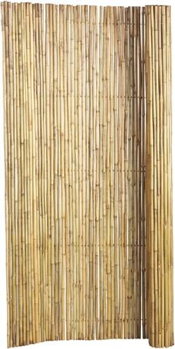 bamboe tuinscherm op rol, afm. 180 x 180 cm, blank