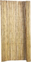 bamboe tuinscherm op rol, afm. 180 x 100 cm, blank-1