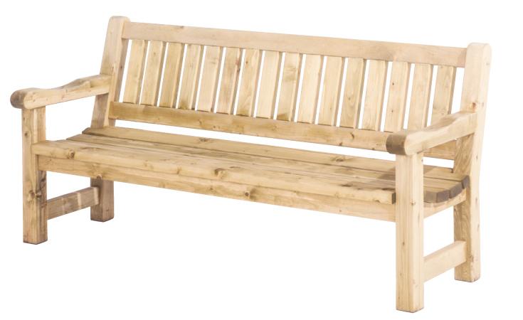 Woodvision tuinhout Tuinbank Luuk, afm. 200 x 74 x 96 cm, houtdikte 40 mm