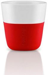 Eva Solo Espresso koffiemok, inhoud 80 ml, rood, per 2 st.
