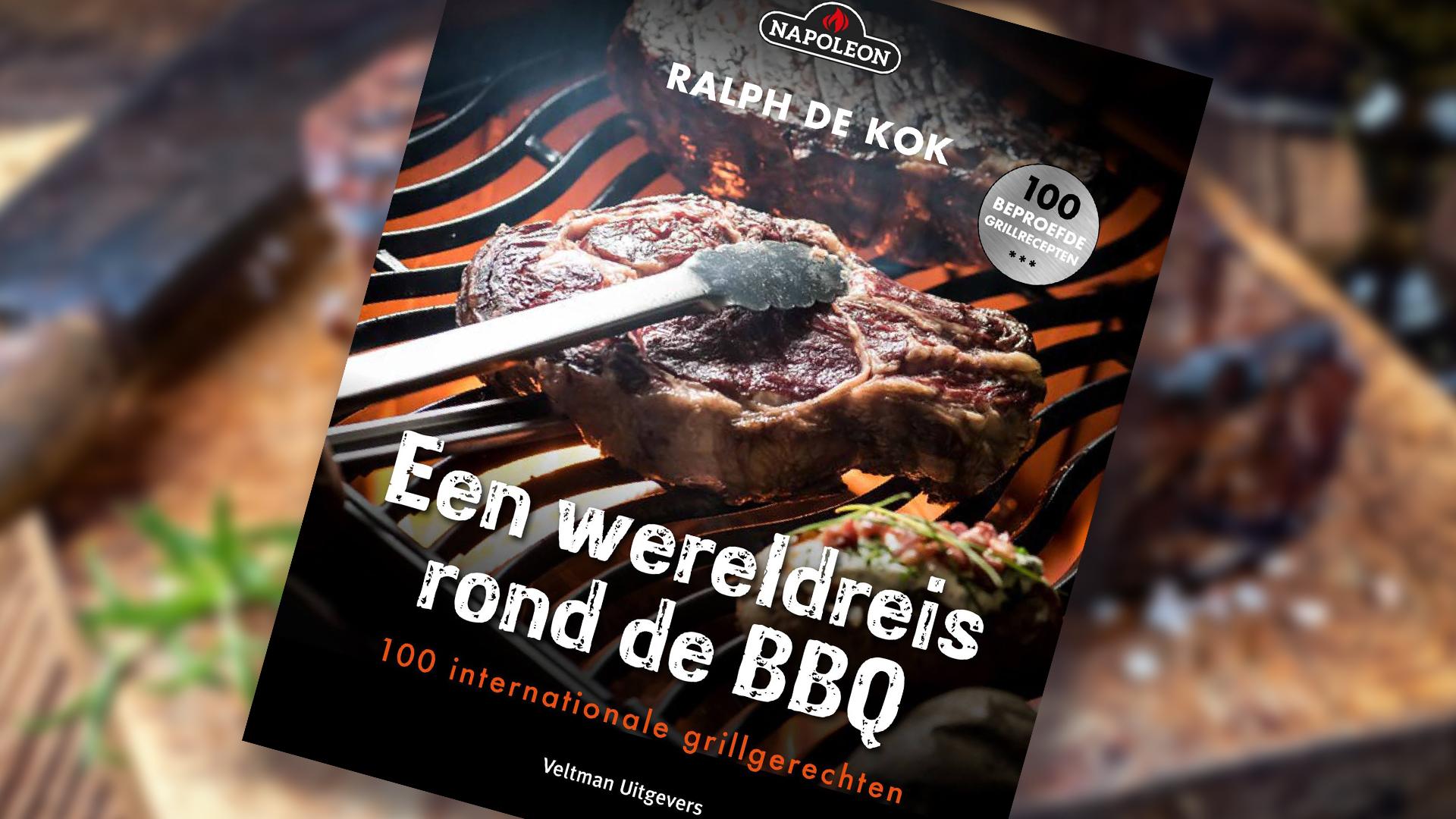 """Napoleon barbecues Napoleon grillboek """"Een wereldreis rond de BBQ"""""""