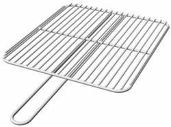 Burni grillrek, afm. 40 x 45 cm, rvs