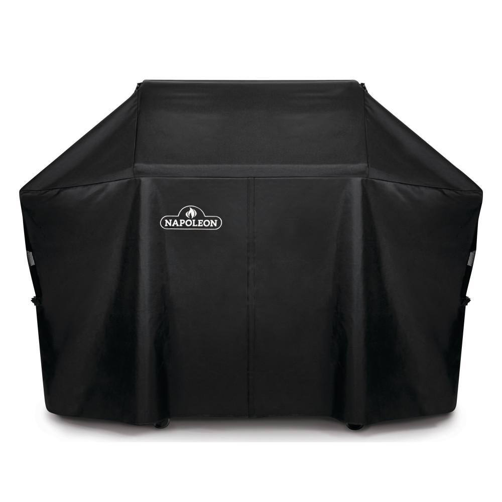 Napoleon barbecues Beschermhoes voor Napoleon barbecue Rogue 525, zijtafels uitgeklapt