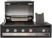 Boretti barbecue Ibrido Top, 75% gas, 25% houtskool-2