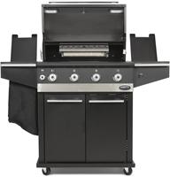 Boretti barbecue Ibrido, 75% gas, 25% houtskool, SHOWMODEL