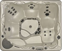 Beachcomber 710 portable Eco-Loc Hot Tub, afm. 178 x 218 x 97 cm