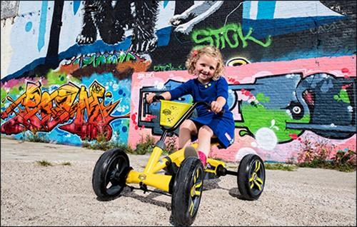 BERG Buzzy Basket Yellow-2