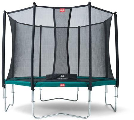 BERG trampoline Favorit, diam. 330 cm - Safety Net Comfort - groen