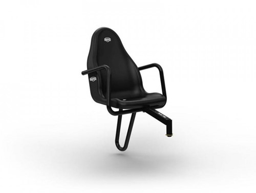 BERG Passenger seat Black, (duostoel)