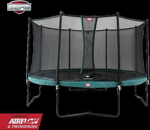 BERG Champion trampoline, diam. 380 cm.