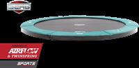 BERG flatground trampoline Champion, diam. 330 cm.