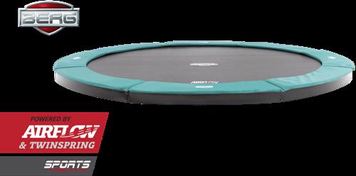 BERG flatground trampoline Champion, diam. 380 cm.