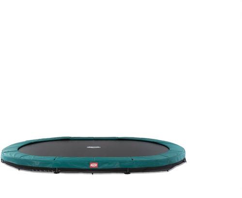 BERG inground trampoline Grand Champion, afm. 350 x 250 cm