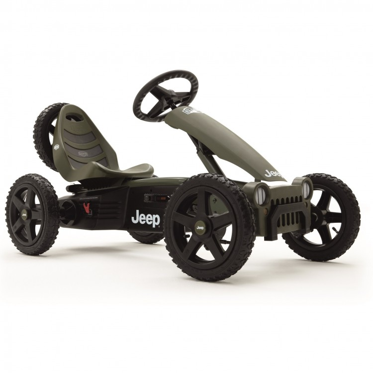 BERG Jeep Adventure Pedal Go Kart