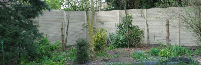 Betonschutting: een voordelig alternatief voor het metselen van een muur