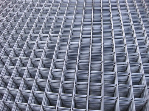 betonijzermat, afm. 180 x 180 cm, maas 5x5 cm, staal verzinkt