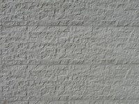 betonplaat voor schutting, afm.184x36 cm, enkelzijdig graniet motief, wit-1