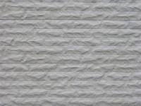 betonplaat voor schutting, afm. 184x36 cm, dubbelzijdig gebroken steen motief, wit