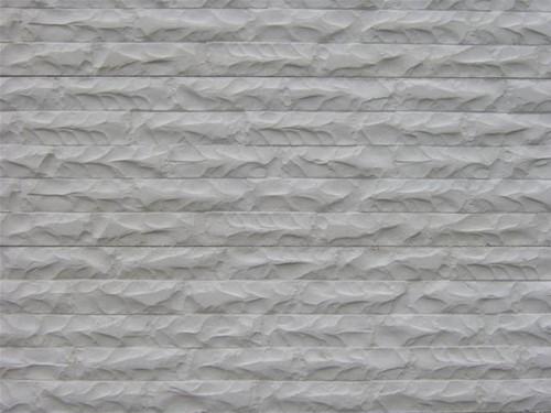 betonplaat afm. 184x36 cm, dubbelzijdig glad motief, wit