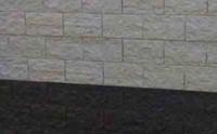 betonplaat voor schutting, afm. 184x36 cm, dubbelzijdig elbe motief, antraciet-1
